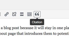 Blockquote & Citation
